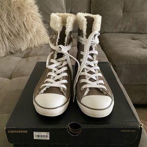 Converse Dainty x High Morel Shearling Boot